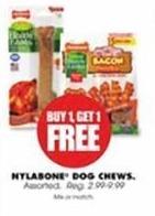 Blains Farm Fleet Black Friday: Nylabone Dog Chews - B1G1 Free