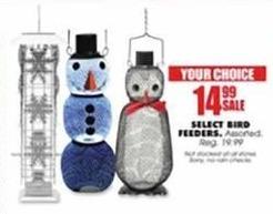Blains Farm Fleet Black Friday: Select Bird Feeders for $14.99