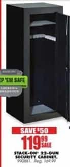 Blains Farm Fleet Black Friday: Stack-On 22-Gun Security Cabinet for $119.99