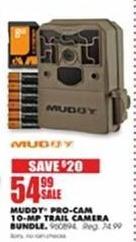 Blains Farm Fleet Black Friday: Muddy Pro-Cam 10-MP Trail Camera Bundle for $54.99