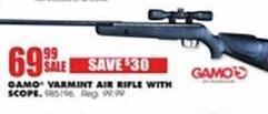 Blains Farm Fleet Black Friday: Gamo Varmint Air Rifle w/ Scope for $69.99