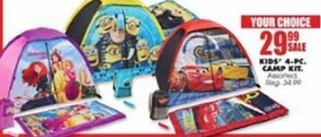 Blains Farm Fleet Black Friday: Kids' 4-PC. Camp Kit for $29.99