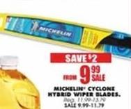Blains Farm Fleet Black Friday: Michelin Cyclone Hybrid Wiper Blades for $9.99
