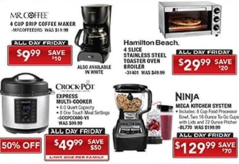 PC Richard & Son Black Friday: Mr. Coffee 4 Cup Drip Coffee Maker for $9.99
