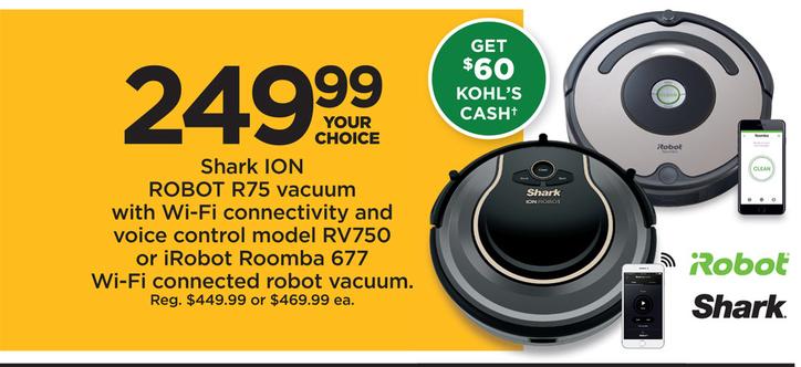 iRobot deals and discounts