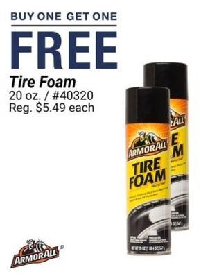 Pep Boys Black Friday Armor All Tire Foam B1g1 Free