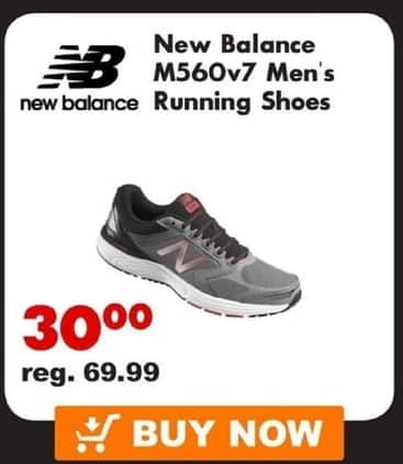 adb491863f223c Big 5 Sporting Goods Black Friday  New Balance M560v7 Men s Running Shoes  for  30.00