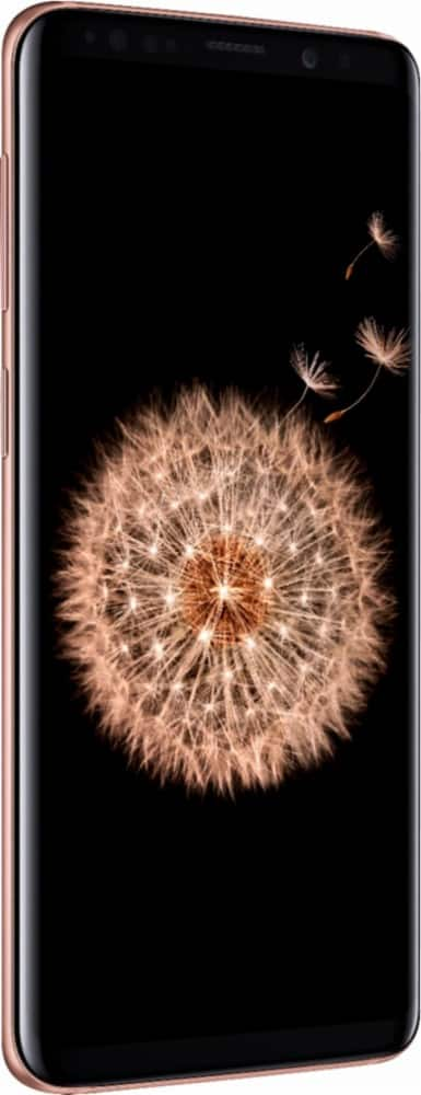 Samsung - Galaxy S9 with 256GB Memory Cell Phone (Unlocked) - Sunrise Gold $719.99