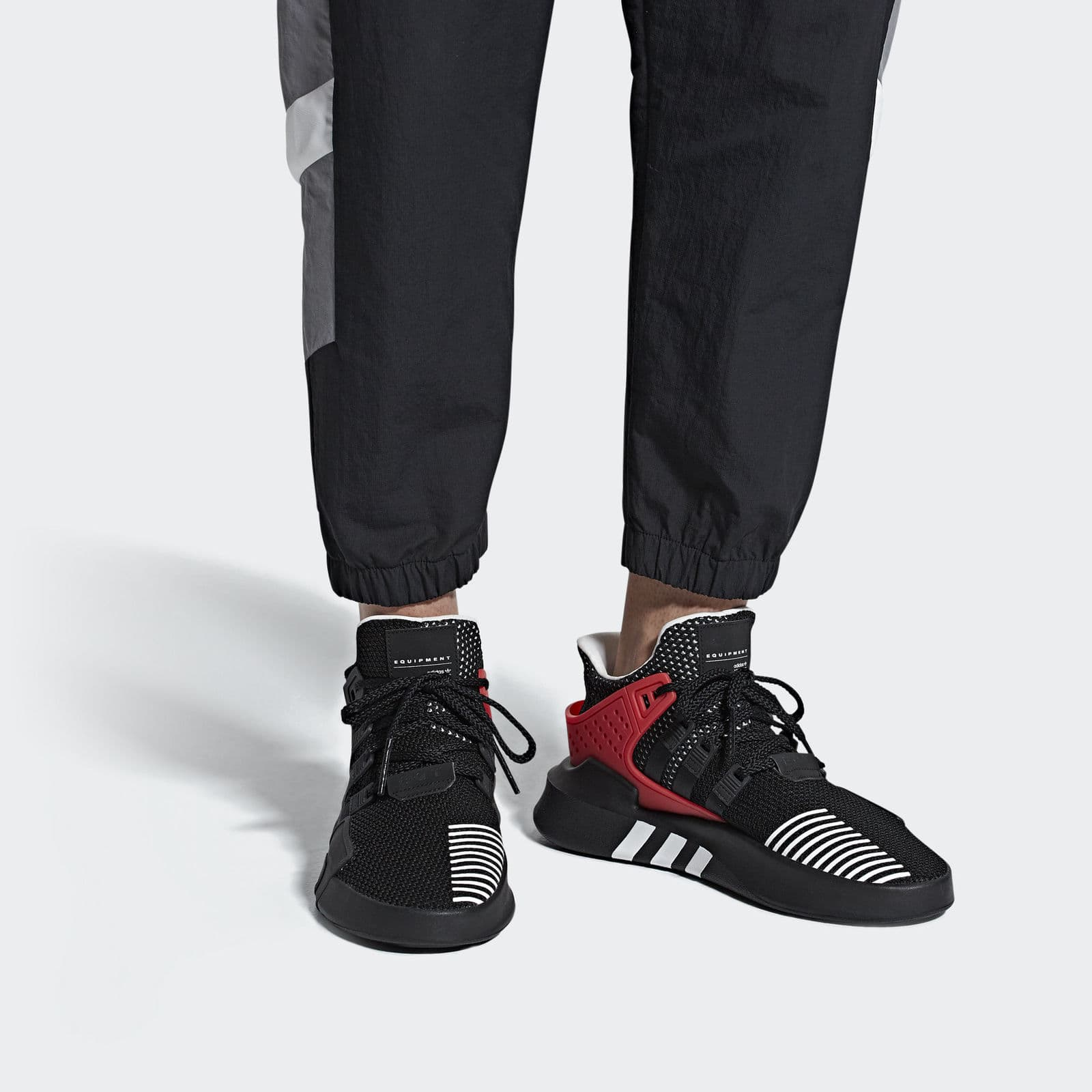 meet 0a1bd 0a1c1 ... 42% off+Extra 20% off Adidas EQT Bask ADV Shoes Men s( adidas EQT BASK  ADV GREY ONE F17 GREY ONE F17 sub green ...