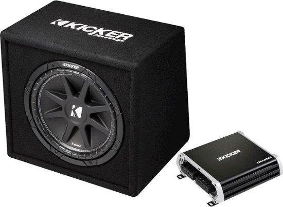 """Kicker 12"""" subwoofer and 250w amplifier - $144.99 @ Bestbuy"""