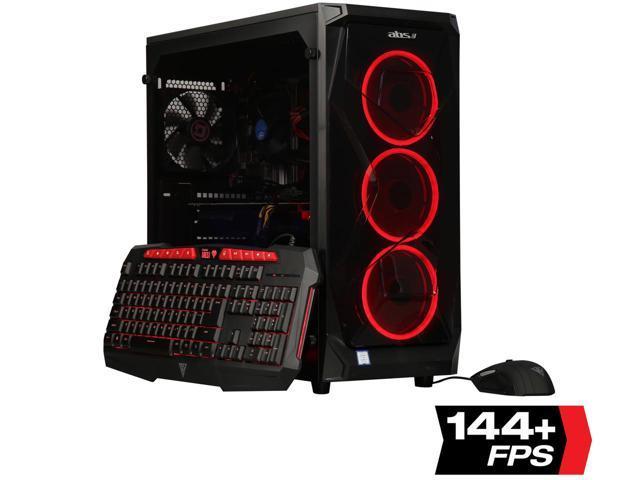 ABS Gem - i7-8700 - GeForce RTX 2080 - 16GB DDR4 - 240GB SSD - 1TB HDD - Gaming Desktop PC - $1299 @ Newegg