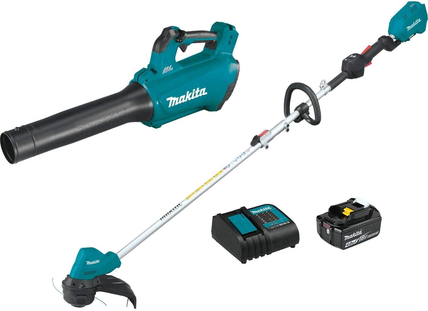 Makita 18-Volt 4.0 Ah LXT Lithium-Ion Brushless Cordless Combo Kit (2-Piece) for $249