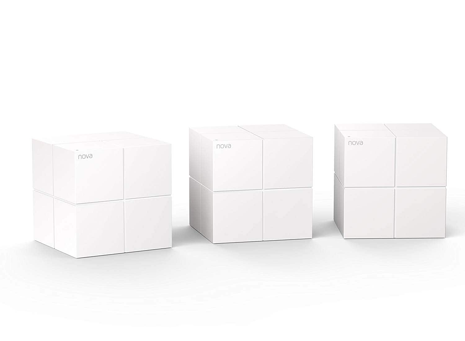 Amazon Tenda Nova MW6 3-pack Mesh Router WiFi System Coverage up to 6,000 sq. ft $159.99