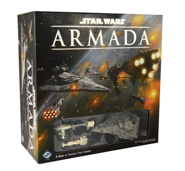 Star Wars Armada and 2 Large ship expansions (Home One and Imperial Star Destroyer) $36.99