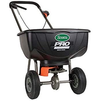 Scotts Pro EdgeGuard Broadcast Spreader with Rubber Tires $61.19 Shipped @Amazon