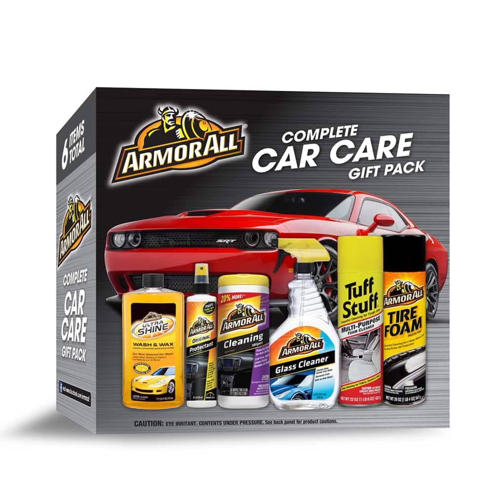 Armor All Complete Car Care Gift Pack (6 Piece Kit) $7 at Walmart B&M, YMMV