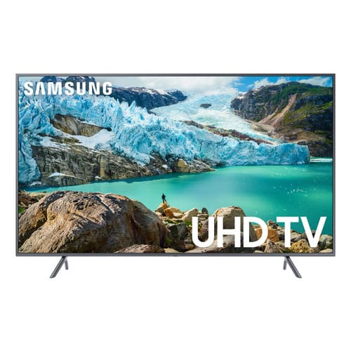 "SAMSUNG 50"" Class 4K Ultra HD (2160P) HDR Smart LED TV UN50RU7200 (2019 Model) $299"