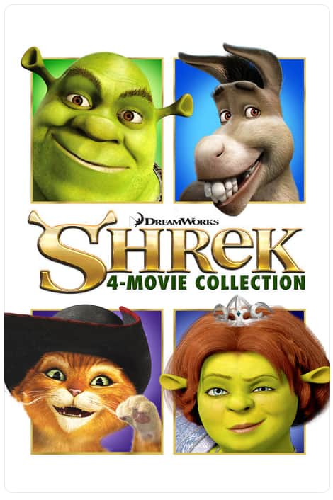 Shrek 4 Movie Collection on iTunes $19.99
