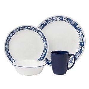 Corelle Livingware16-Piece Dinnerware Set - True Blue ($10 + shipping) - YMMV