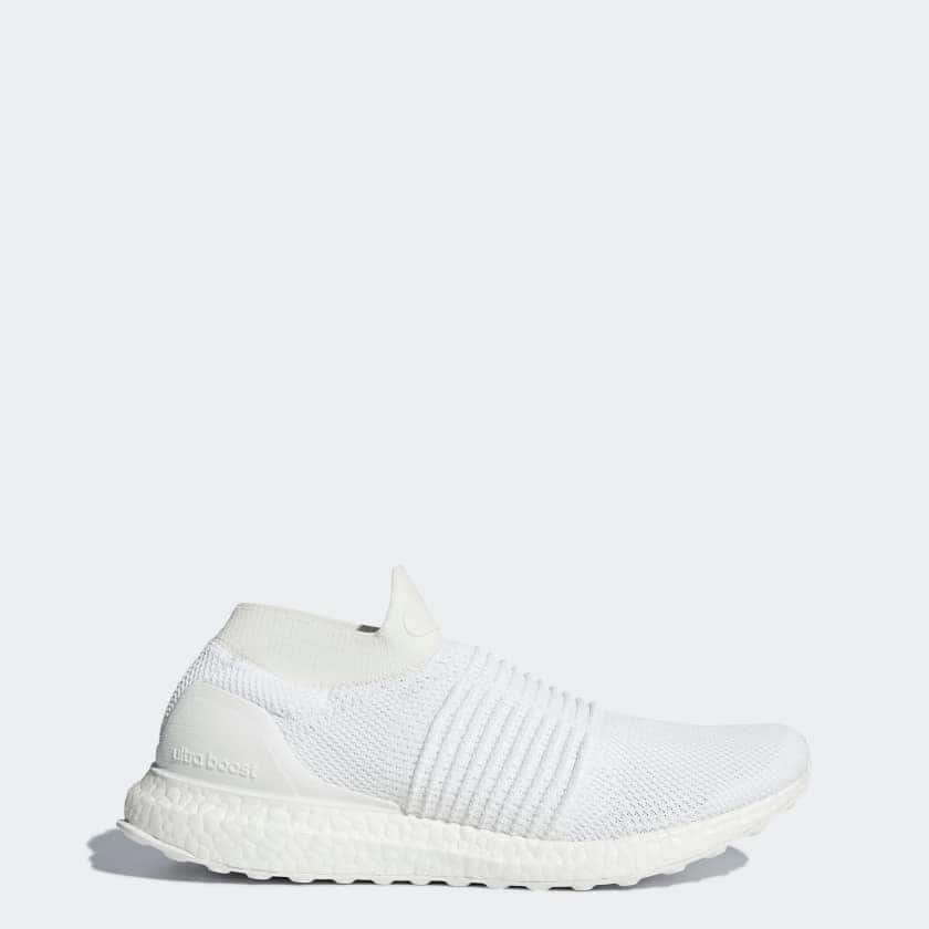 c833a1ebb949e1 adidas Men s Ultraboost Laceless Running Shoes (White) - Slickdeals.net