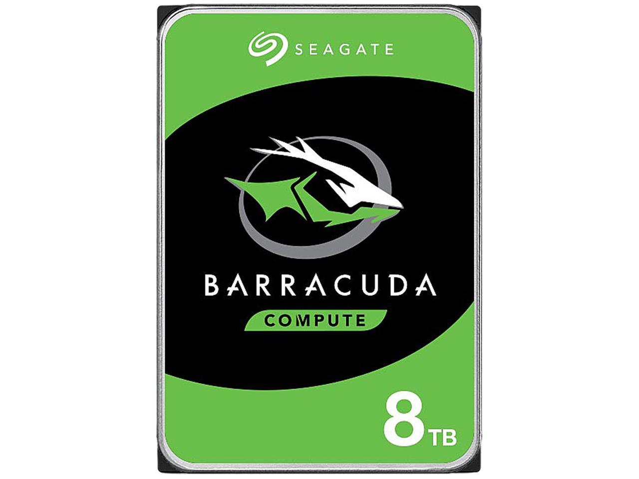 Seagate BarraCuda ST8000DM004 8TB Internal Hard Drive Bare Drive $150