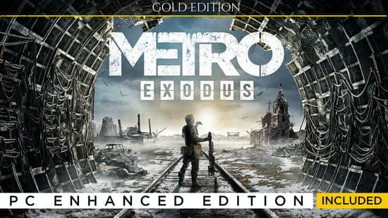 Metro Exodus: Gold Edition (PC Digital Download) $9.83