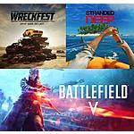 PS4/PS5 Digital Games: Battlefield V, Stranded Deep & Wreckfest Free (PS+ Membership Required)