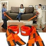 2-Piece Ergonomic Forearm Lifting and Moving Straps (Orange) $5.50 + Free Shipping