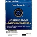 500 Sony Rewards Points ($5 Value) $1.75 (Digital Delivery) *Price Drop*