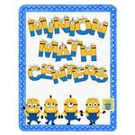 Minions Math Activities (Printable Digital Download) Free
