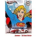 DC Comics Nostalgia Collection: Hot Wheels Vehicles (Superwoman, Batgirl, Darkseid & More) $2.75 + Free Shipping