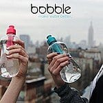 18.5oz. Bobble Filtration Water Bottle w/ Carry Cap (Blue or Magneta) 1 for $5 or 2 for $9 + Free Shipping
