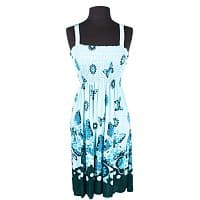 GearXS Deal: 4-Pack of Women's Floral Scroll Print Sundress (Assorted Styles)