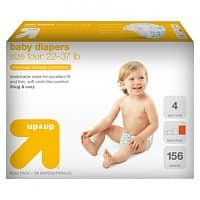 Target Deal: 2 Boxes of UP & UP Baby Diapers (Sizes 2-6) + $10 Target Gift Card