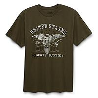 Sears Deal: Men's Patriotic Graphic T-Shirt (Assorted Styles)