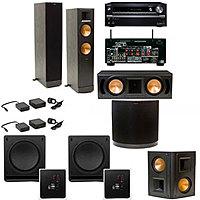 Acoustic Sound Design Deal: Home Theater Systems: Klipsch RF-82II 5.2 $2849, Klipsch RB-61II 5.1