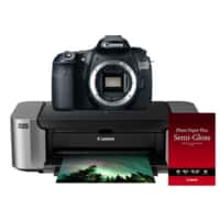 RitzCamera Deal: Canon EOS 60D 18MP DSLR Camera (Body Only) + Pro 100 Printer + 50-Pack Photo Paper