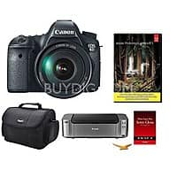 BuyDig Deal: Canon 6D DSLR + EF 24-105mm f/4L IS USM Lens + Printer + LR5