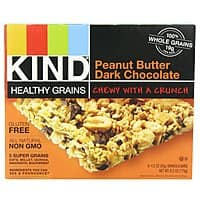 Amazon Deal: 15-Ct KIND Healthy Grains Granola Bars (Peanut Butter Dark Chocolate)
