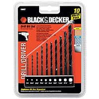 Sears Deal: 10-Piece Black & Decker Drill Bit Set