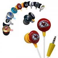 GearXS Deal: Official Licensed iHip NFL Noise-Isolating Earphones (Various Teams)