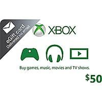 Staples Deal: $50 Xbox Live Gift Card (Digital Delivery)