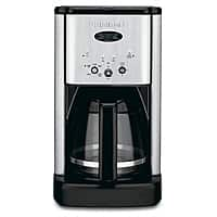 BuyDig Deal: Cuisinart Refurbs: DCC-1200 12-Cup Programmable Coffee Brewer (Chrome)