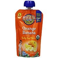 Amazon Deal: 12-Pack 4oz. Earth's Best Organic Baby Food Puree (Orange Banana)