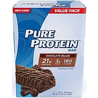 Amazon Deal: 2-Pack of 6-ct. Pure Protein Bars (Chocolate Deluxe)