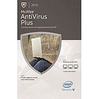 Newegg Deal: McAfee AntiVirus Plus 2015 (3-PCs) + $5 Newegg Gift Card