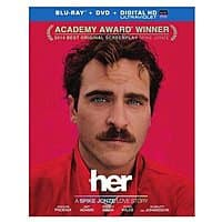 Rakuten (Buy.com) Deal: Her (Blu-ray + DVD + Digital Copy)