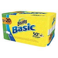 Target Deal: 24-Count Bounty Giant or Mega Roll Paper Towels + $5 Target Gift Card
