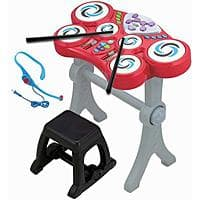 Walmart Deal: Little Virtuoso Beat Boppers Drumset (Red)