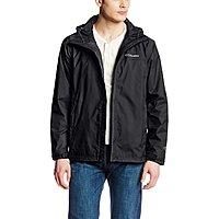 Amazon Deal: Columbia Men's Watertight II Packable Rain Jacket (black or orange)